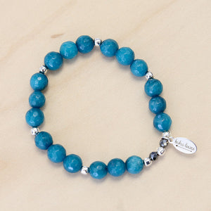 The Carly - Turquoise  Jade Bracelet