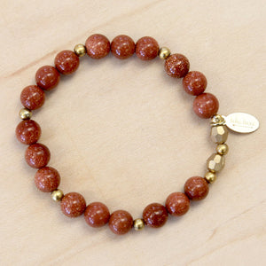 The Leona - Goldstone Bracelet