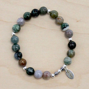 The Miley - Indian Agate Bracelet