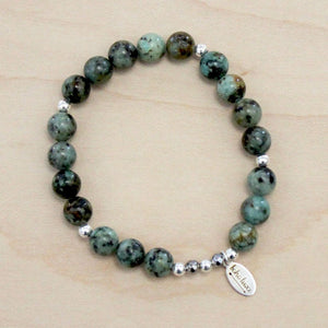 The Adrianna - African Turquoise Bracelet