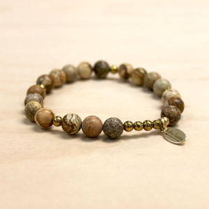 The Cailla - Picture Jasper Bracelet