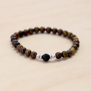 The John - Semi-precious Tigers Eye Bracelet