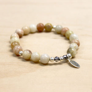 The Nora - Neutral Jasper Bracelet