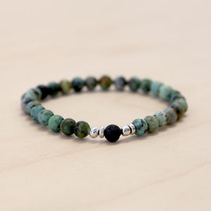 The Yar - Semi-precious African Turquoise Bracelet