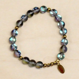 The Lorelai - Grey Opal Bracelet