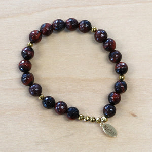 The Elle - Tigers Eye Semi-Precious Bracelet