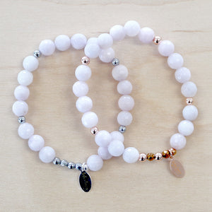The Poppy -  Semi-precious Bracelet