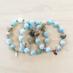 The Monica  - Semi Precious Bracelet