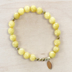 The Daisy - Semi Precious Bracelet