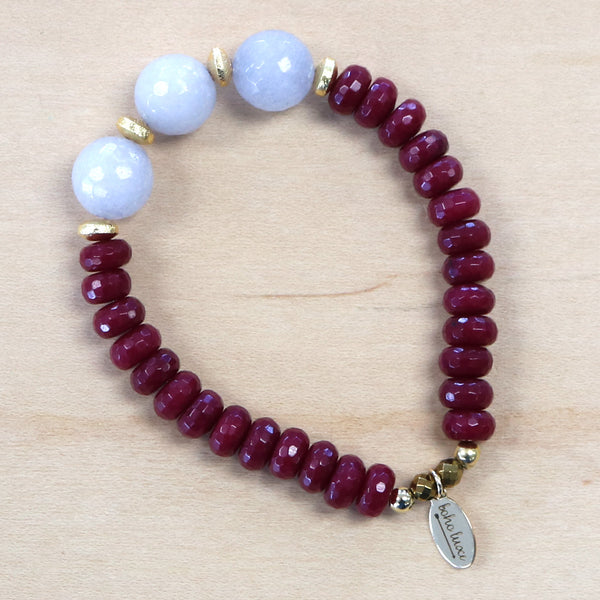 The Angela - Semi-precious Bracelet