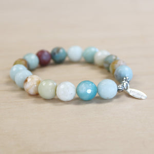 The Alice - Amazonite  - Semi-precious beads