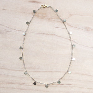The Fiona  - Gold  or Silver Choker Necklace
