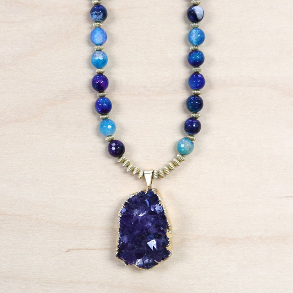 The Carmen - Druzy Necklace
