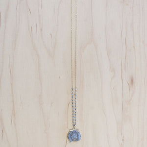 The Cecily - Semi-Precious Chain with Druzy Quartz