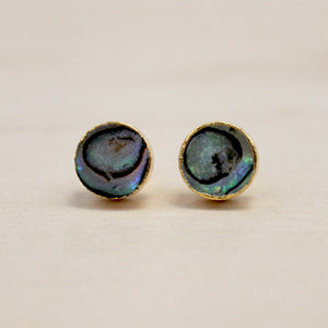 The Eloise - Abalone Studs