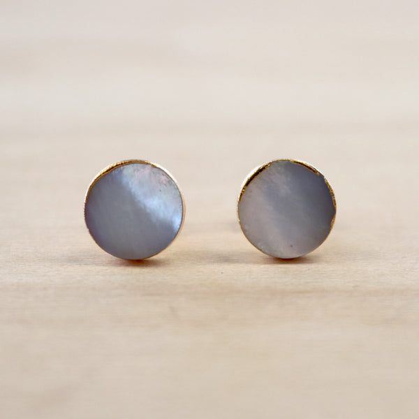 The Mikki - Mother of Pearl Studs