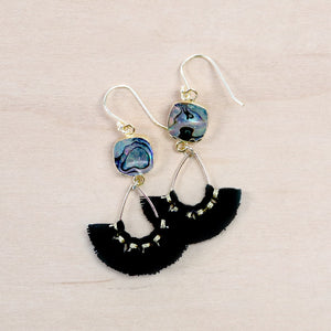 The Maisy -  Semi-precious Tassel Earrings