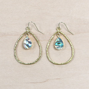 The Kiera - Abalone Earrings