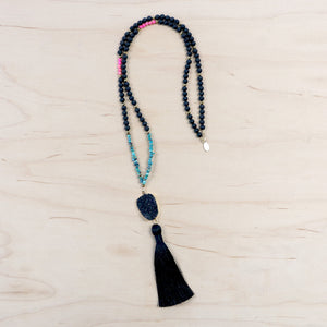 The Judith - Semi-Precious Mala Necklace