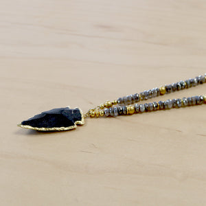 The Gemma  - Semi-Precious Mala Necklace