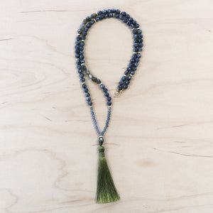 The Kortney  - Semi-Precious Mala Necklace