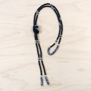 The Mirin - Semi-Precious Lariat Necklace