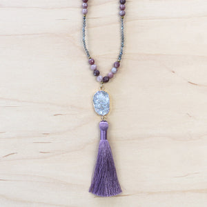 The Carolyn - Semi-Precious Mala Necklace