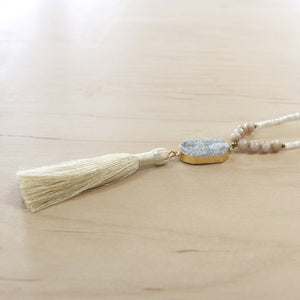 The Julia - Semi-Precious Mala Necklace