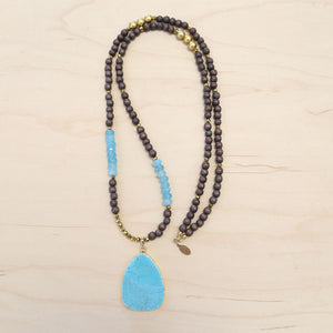 The Ella - Semi-precious Turquoise Necklace