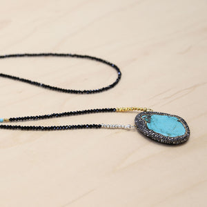 The Mila - Semi-precious Turquoise Necklace