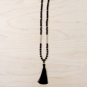 The Kaitlyn - Semi-Precious Mala Necklace