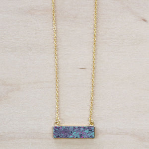 The Lillian -  Bar Necklace