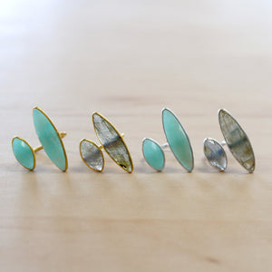 The Eve - Labradorite Ring - Gold