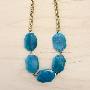 The Avery - Semi-Precious Stone Necklace