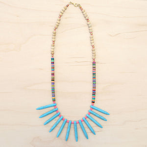 The Kathryn - Semi-Precious Stone Necklace