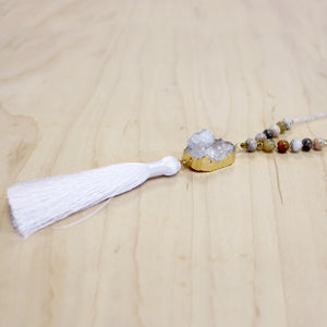 The Emily - Semi-Precious Mala Necklace