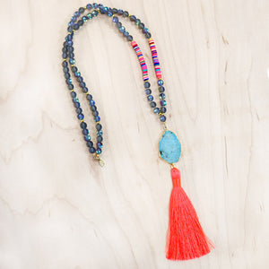 The Heide - Semi-Precious Mala Necklace