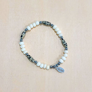 The Darla - Dalmatian jasper  - Semi-precious beads