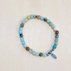 The Dora - amazonite - Semi-precious beads