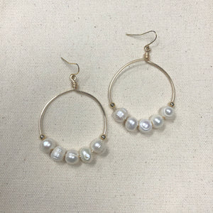 The Connie - hoop earrings