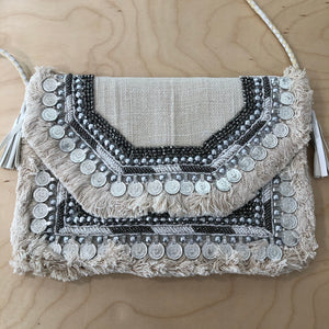 The Delany - Cross body clutch