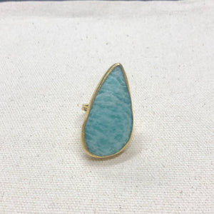 The Joy - Amazonite Ring