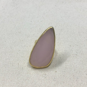 The Joy - Pink Quartz Ring