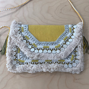 The Mabel   - Cross body clutch