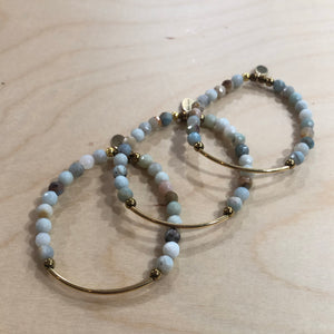 The Ashley -  Amazonite bracelet