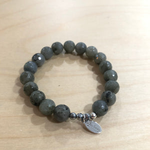 The Allie  - labradorite Semi-precious beads