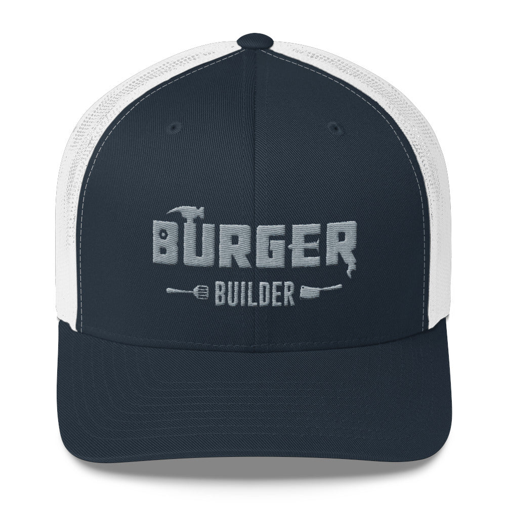 Burger Builder LOGO Trucker Cap