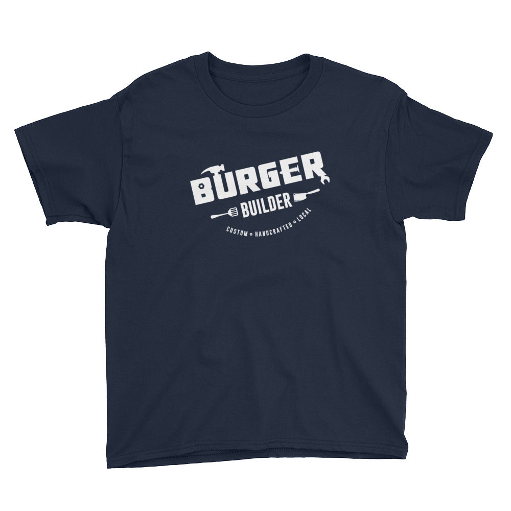 Burger Builder LOGO Youth Short Sleeve T-Shirt