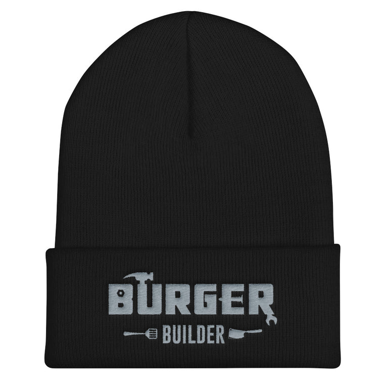 Burger Builder LOGO Cuffed Beanie
