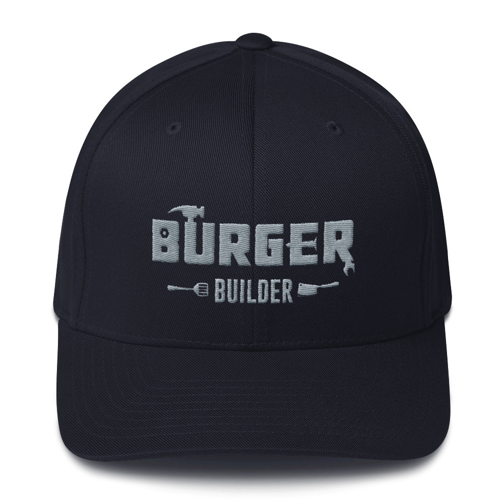 Burger Builder LOGO Structured Twill Cap